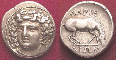 Ancient Greek coins - Coins of Greece, Macedonia, Thrace - Edgar L