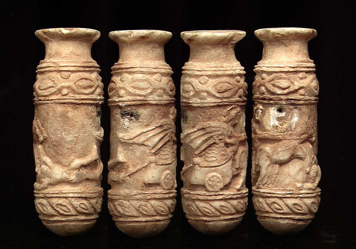 Greek Large Ancient Corinthian Piriform Alabastron Antiques Aphrodite